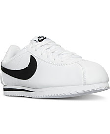 Nike Big Boys'   Cortez Casual Sneakers from Finish Line