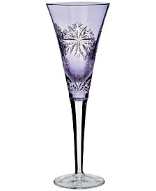 Waterford Flute, Snowflake Wishes For Serenity Prestige Edition