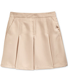 Nautica School Uniform Pleated Scooter Skirt, Little Girls