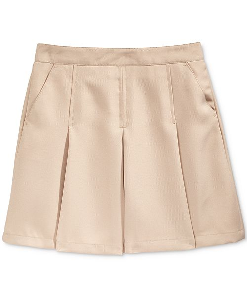 Nautica Little Girls School Uniform Pleated Scooter Skirt