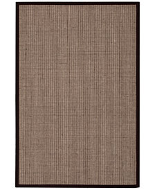 "CLOSEOUT! kathy ireland Home Seascape SEA01 Husk 5' X 7'6"" Area Rug"