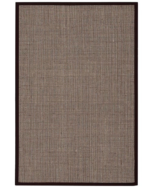 Kathy Ireland CLOSEOUT! Home Seascape SEA01 Husk 4' X 6' Area Rug