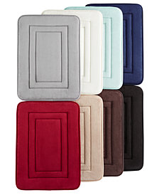 CLOSEOUT! Sunham Inspire Plus Foam Bath Rug, Blucore Quick Dry Technology, Created for Macy's