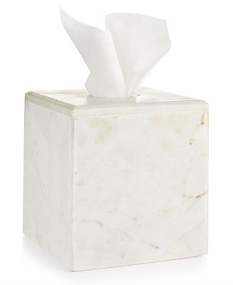 Bathroom Accessories Hotel Collection closeout! hotel collection marble tissue box, created for macy's