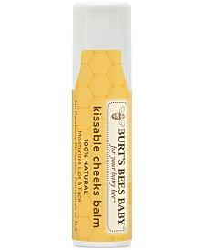 Burt's Bees Baby Bee Kissable Cheeks Balm, 0.25 oz