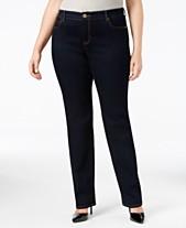 5c7cbb3b9f8 I.N.C. Plus   Petite Plus Size Tummy Control Skinny Jeans