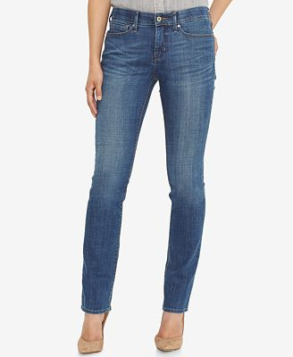 Levi's® 525 Perfect Waist Straight-Leg Jeans - Jeans - Women - Macy's