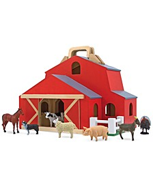 Melissa & Doug Kids' Fold & Go Large Barn