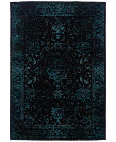 CLOSEOUT! Oriental Weavers Revamp REV7689G Turquoise 6'7