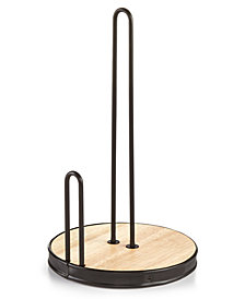 Martha Stewart Collection Wire Paper Towel Holder, Created for Macy's