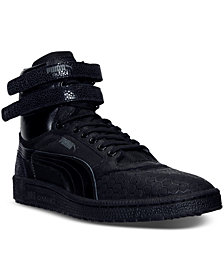 Puma Men's Sky II Hi Mono Crackle Casual Sneakers from Finish Line