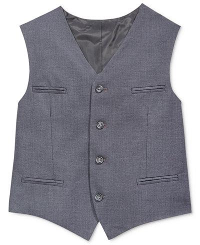 Calvin Klein Fine-Line Twill Vest, Big Boys