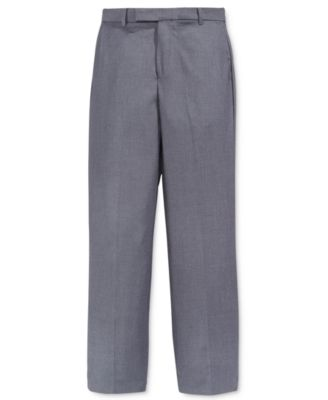 Image of Calvin Klein Boys' Fine Line Twill Suiting Pants