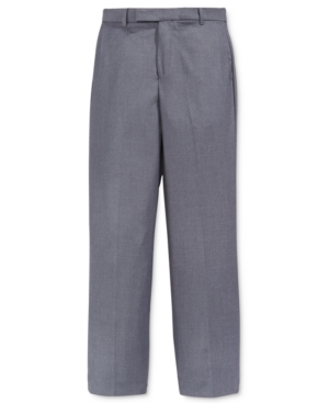 Calvin Klein Fine Line Twill Suiting Pants Big Boys
