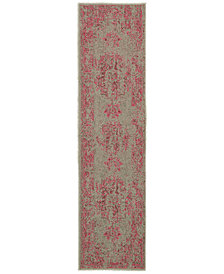 CLOSEOUT! Oriental Weavers Revamp REV7330 1'10'' x 7'6'' Runner Rug