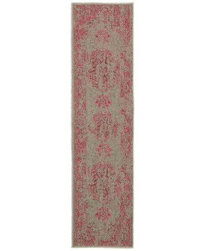 CLOSEOUT! Oriental Weavers Revamp REV7330 1'10'' x 7'6'' Runner Rug