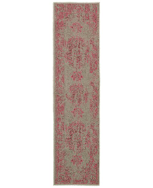 Oriental Weavers CLOSEOUT! Revamp REV7330 1'10'' x 7'6'' Runner Rug