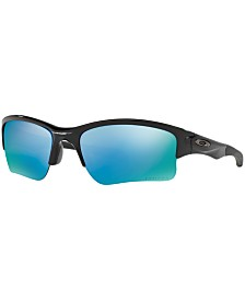 Oakley Polarized Quarter Jacket Prizm Deep Water Youth Polarized Sunglasses , OO9200