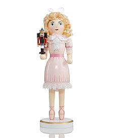 "Holiday Lane 14"" Wood Clara Statue Nutcracker Suite, Created for Macy's"