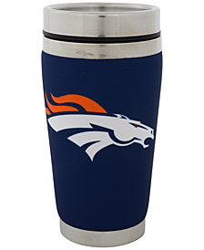 Hunter Manufacturing Denver Broncos 16oz Stainless Steel Travel Tumbler