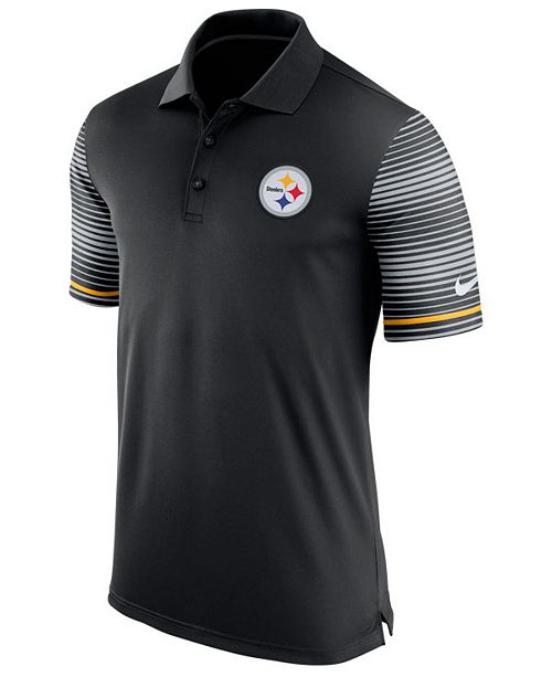 8f3d7095b Nike Men s Pittsburgh Steelers Early Season Polo Shirt - Sports Fan ...