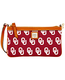 Dooney & Bourke Oklahoma Sooners Large Slim Wristlet