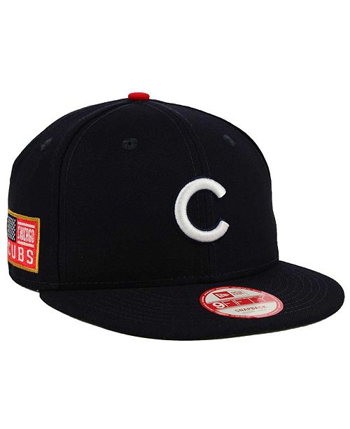 253b3005275 New Era. Chicago Cubs All American Patch 9FIFTY Snapback Cap. Be the first  to Write a Review. main image  main image ...