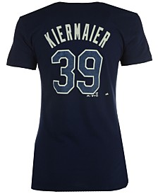 Majestic Women's Kevin Kiermaier Tampa Bay Rays Crew Player T-Shirt