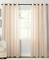 Miller Curtains Kailey Grommet Panel Collection - Easy Care Linen Look!