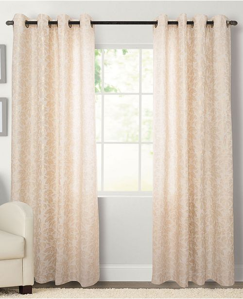 "Miller Curtains Kailey 50"" x 63""  Grommet Panel"