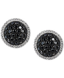 Le Vian® Red Carpet Diamond Cluster Stud Earrings (1-1/4 ct. t.w.) in 14k White Gold