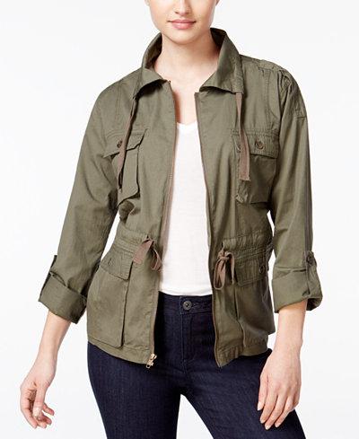Bar III Field Jacket, Created for Macy's
