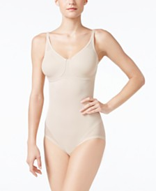 Miraclesuit Women's  Extra Firm Tummy-Control Sheer Trim Body Shaper 2783