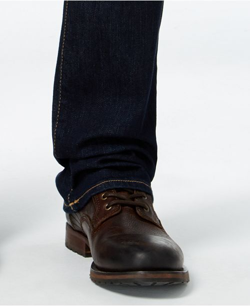 667248a89 ... True Religion Men s Ricky Straight-Fit Dark-Rinse Stretch Jeans ...