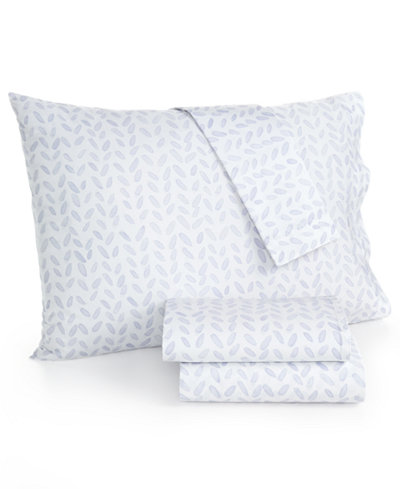 bluebellgray 230 Thread Count Printed Full Sheet Set