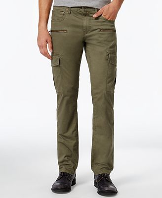 INC International Concepts Men's Esteban Slim-Straight Cargo Pants ...