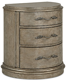 Zarina Demilune Nightstand, Created for Macy's