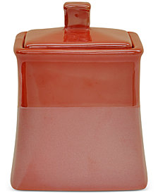 Jessica Simpson Kensley Spice Coral Covered Jar