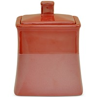 Deals on Jessica Simpson Kensley Spice Coral Covered Jar