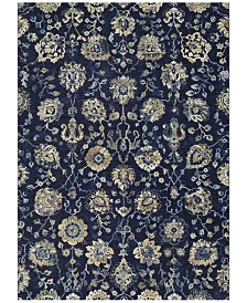 "Couristan Taylor Adaline Navy-Cream 7'10"" x 11'2"" Area Rug"