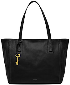 Fossil Emma Leather Tote and Wallet