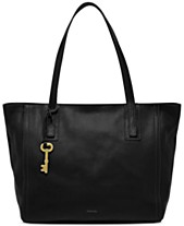95b774e54 Fossil Emma Leather Tote and Wallet
