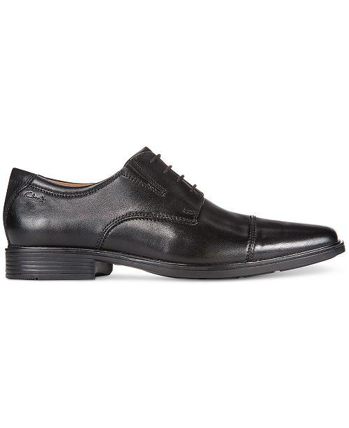 Clarks Mens Tilden Cap Toe Oxford All Mens Shoes Men Macys