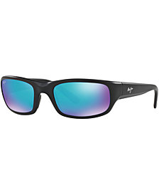 Maui Jim Polarized Stingray Sunglasses, 103 Blue Hawaii Collection