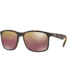 Ray-Ban Polarized Chromance Collection Sunglasses, RB4264 58
