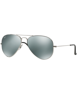 Ray-Ban Aviator Mirrored Sunglasses,  RB3025 58