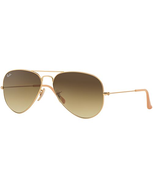 Ray-Ban Sunglasses, RB3025 58 ORIGINAL AVIATOR GRADIENT