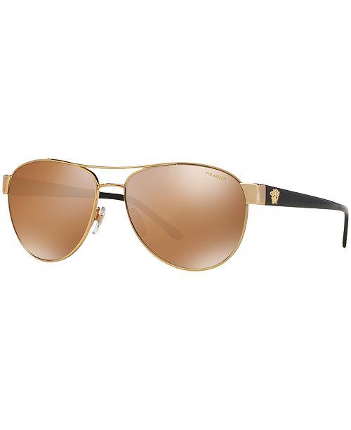 56d6f6a5d093 Versace Polarized Sunglasses, VE2145; Versace Polarized Sunglasses, VE2145  ...