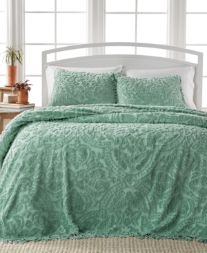 Closeout Allison Sage Tufted 3Pc King Bedspread Set Bedding