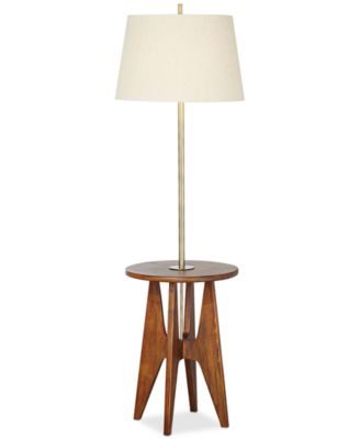 Pacific Coast Wood Floor Lamp with Accent Table   Lighting   Lamps   For  The Home   Macy s. Pacific Coast Wood Floor Lamp with Accent Table   Lighting   Lamps